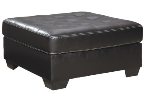 Jacurso Charcoal Oversized Accent Ottoman (9980408)
