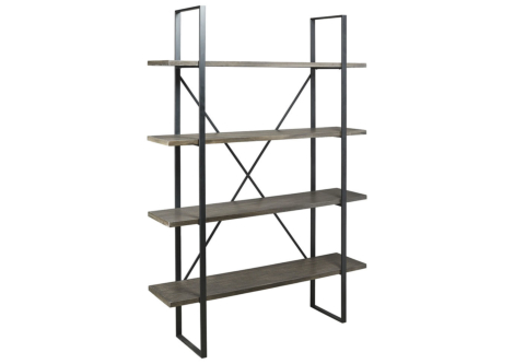 Gilesgrove Black Bookcase (A4000017)