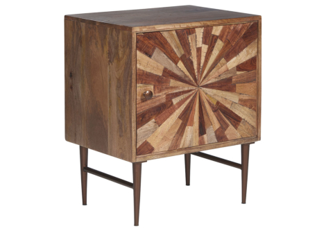 Dorvale Two-Tone Brown Accent Cabinet (A4000266)