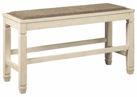 Bolanburg Two-Tone Counter Height Dining Bench (D647-09)
