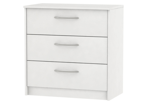 Finch White Chest of Drawers (EB108738A)
