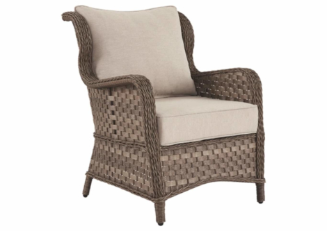 Clear Ridge Lounge Chair with Cushion (Set of 2) (P361-820)